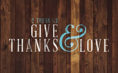 Thanksgiving is Thanks-living!