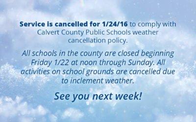 Weather Update January 21, 2016