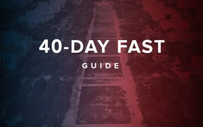 Will you fast and pray for this nation?