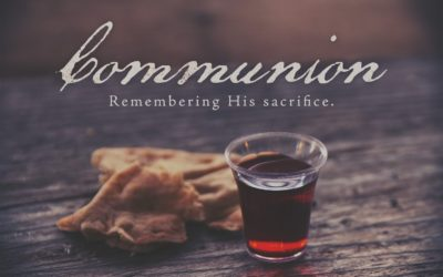 This Sunday Communion and Fellowship