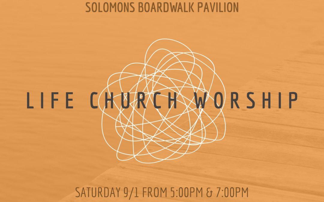 Worship on the Boardwalk