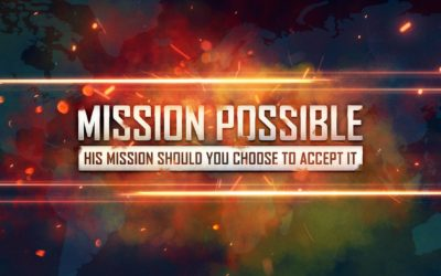 Mission Possible, New Series starting October 14th, 2018